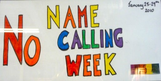 """""""No Name-Calling Week"""": More Indoctrination from GLSEN"""