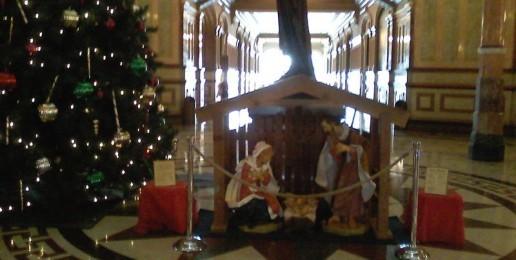 Annual Nativity Scene To Stand In Illinois State Capitol Rotunda