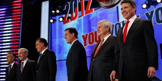 GOP Candidates Battle in Early Voting State 'Trifecta'