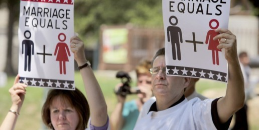 Marriage Wins in New Jersey; Under Attack in California