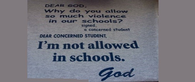 'God' — The New Four-Letter Word in Public Schools