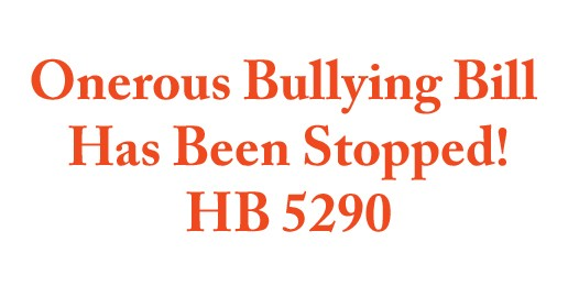 Bullying Bill Fails in Illinois Senate!
