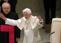 """Pope Benedict Denounces Gay """"Marriage"""" During His Annual Christmas Message"""
