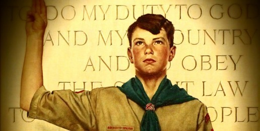 Allowing Gay Leaders Would Destroy the Boy Scouts, A bastion of Traditional Values.