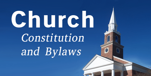 Recommended bylaw changes for churches for Church constitution template