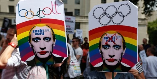 Russia's Anti-Propaganda Law Riles Pro-Homosexuality Crowd
