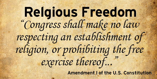 Freedom for Religion, Not From It