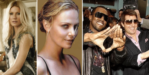 Epic Fail:  We Should Have Swapped Gwyneth, Charlize, Kanye & Tom