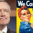 Tumultuary Harry Reid Insults Whites, Women and Justice Thomas