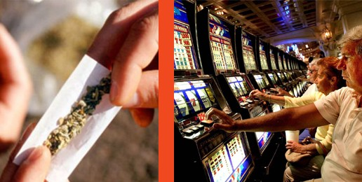 Gambling, Drugs, and Odd Political Bedfellows