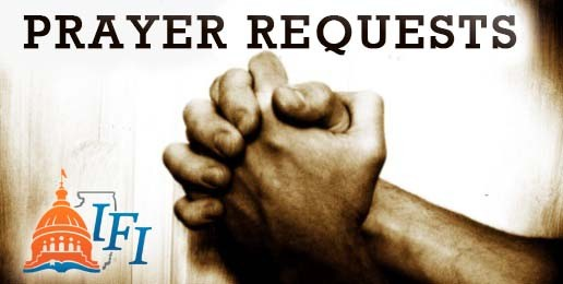 A Call To Prayer for the New Legislative Sessions