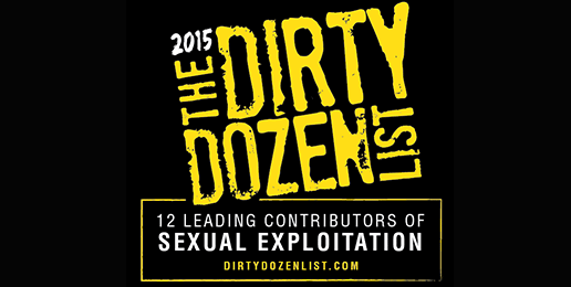 Dirty Dozen List of Top Sexual Exploiters Announced
