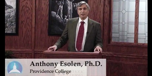 Come Hear the Remarkable Anthony Esolen!