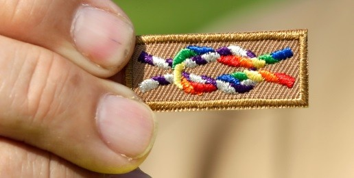 'Be Prepared': 'Gay' Men with Boy Scouts in Tents