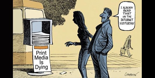 The Demise of Newspapers?