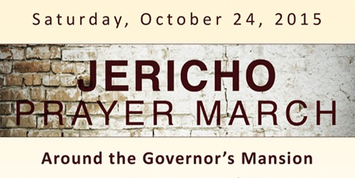 Jericho Prayer March in Springfield