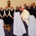 Pope Francis Visits Little Sisters of the Poor to Show Solidarity in Fight Against Obamacare Birth Control Mandate