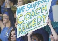 Praying Coach Suspended for Exercising His Civil Rights