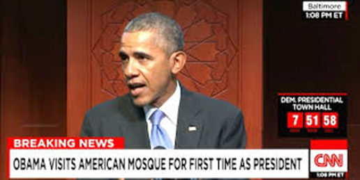 You Don't Know What Obama Said at the Mosque