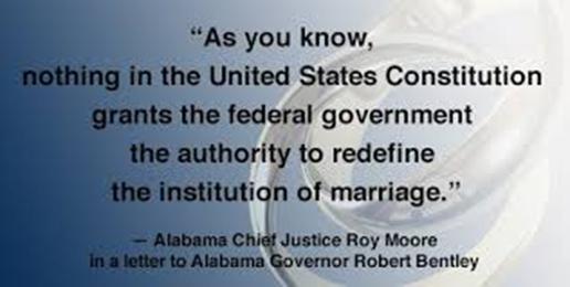Alabama Supreme Court DID Reject U.S. Supreme Court Marriage Opinion