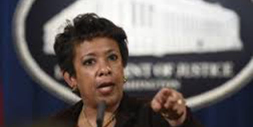 Attorney General Lynch Looks Into Prosecuting 'Climate Change Deniers'
