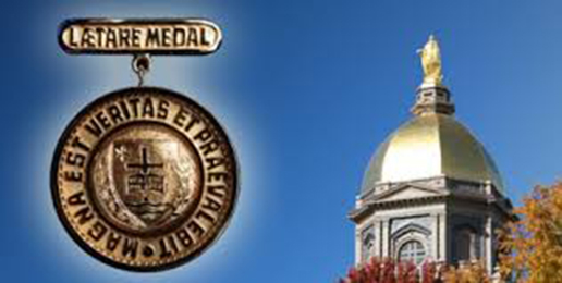 Letter to University of Notre Dame About Medal Award to Biden