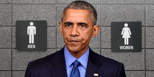 Emperor Obama Mandates Co-Ed Restrooms–and More