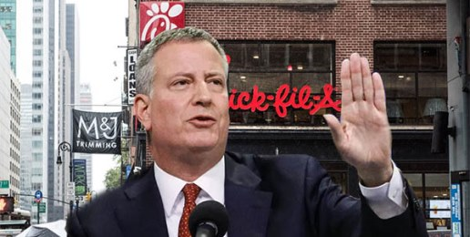 Leftist NY City Mayor Wants to Put Christians Out of Business