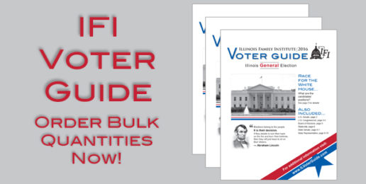 Voter Guides Are Going Quickly – Order in Bulk Today!