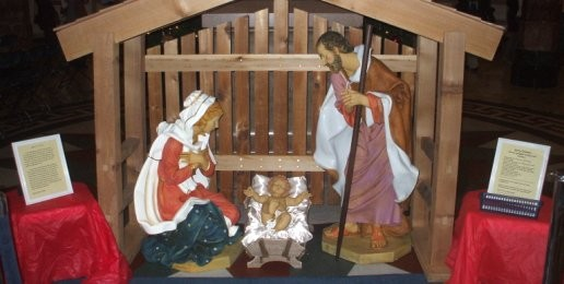 Nativity Scene Displayed at State Capitol
