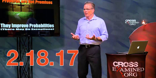 Reminder:  Feb 18th Worldview Event with Dr. Frank Turek