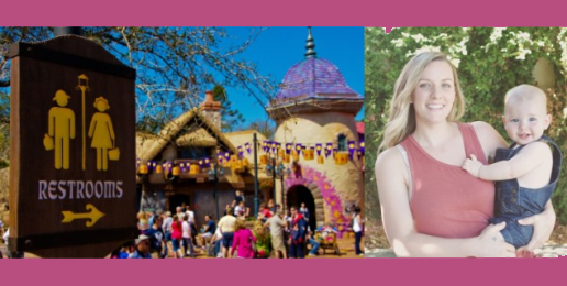 Liberal Mom Objects to Man in Disneyland's Women's Restroom