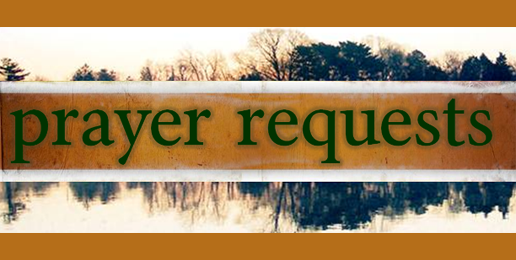 Prayer Requests for April 19th