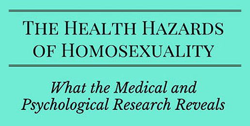 The Health Hazards of Homosexuality: An Important New Book from MassResistance (Part 2)