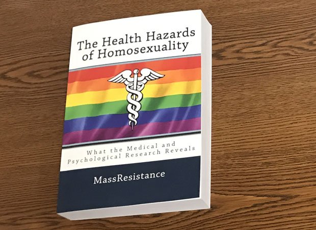 "Amazon Removes Book Outlining Medical and Psychological ""Health Hazards of Homosexuality"""