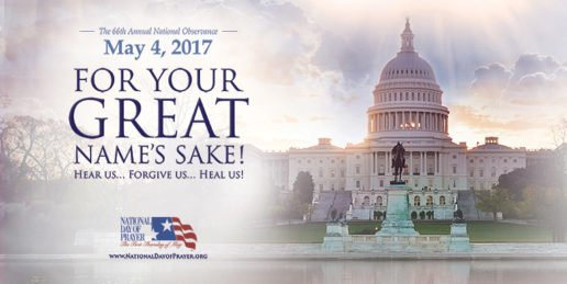 National Day of Prayer on May 4th