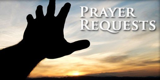 Prayer Requests for May 10th
