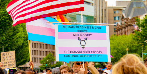 "Coalition Letter Urges Trump Administration to Resist Courts on ""Transgenders"" in Military"