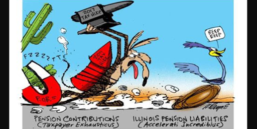 Illinois State Pensions: Overpromised, Not Underfunded