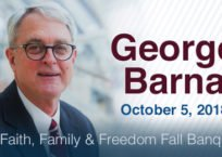 George Barna at IFI's Annual Banquet in October
