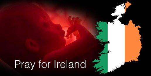 Pray for Ireland's Babies