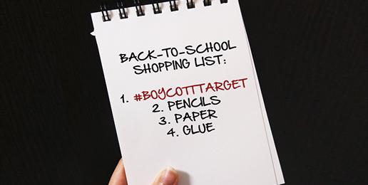 Avoid Target for Back to School Shopping