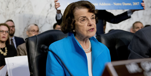 Dianne Feinstein's Big Fat Abortion Lie