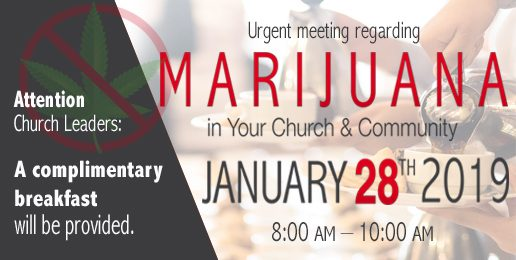 Pastor's Breakfast in Oak Brook Regarding Marijuana Legalization