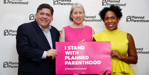 Gov. Pritzker Cheers Abortion at Planned Parenthood