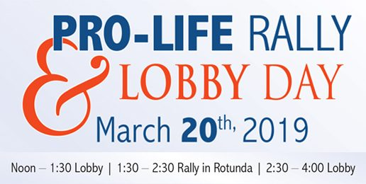 Church Bulletin Insert for Pro-Life Lobby Day
