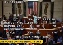 Banning Christianity: U.S. House Passes Faux-Equality Act
