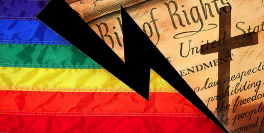Conflicts Between Religious Freedom and the Gay Agenda Trouble Most Americans