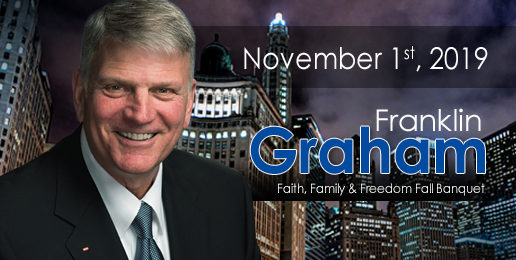 Rev. Franklin Graham to Keynote IFI's Annual Banquet!