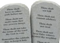 Socialism Violates All Ten Commandments